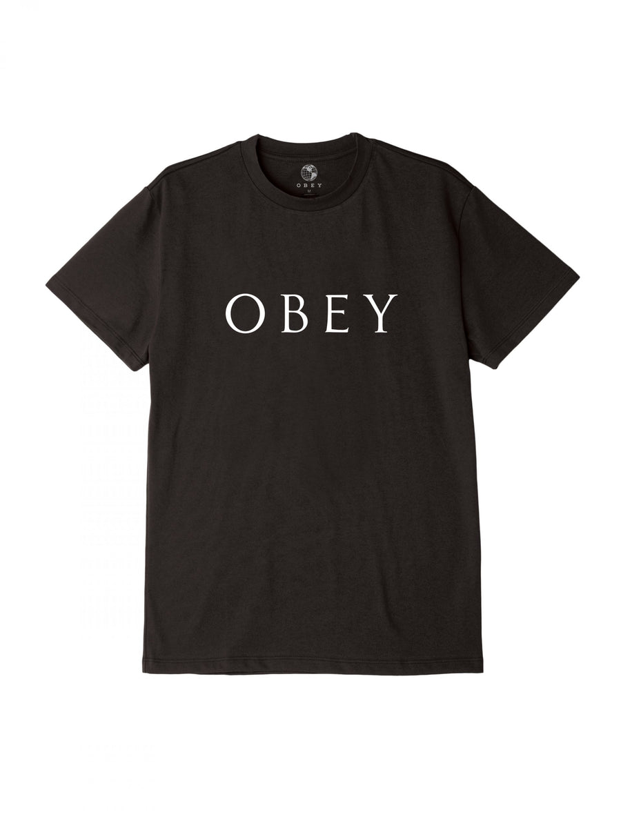 Obey Novel 2 T-Shirt - Black