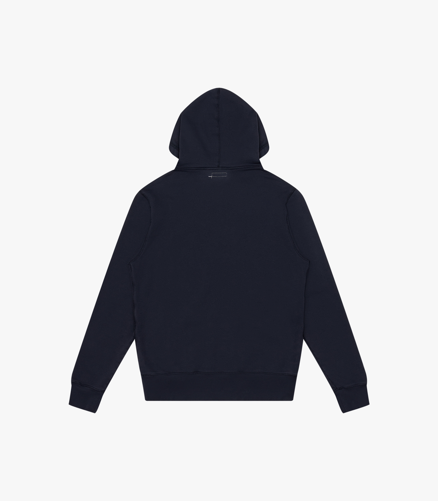 Knickerbocker Core Logo Hoody - Dark Navy