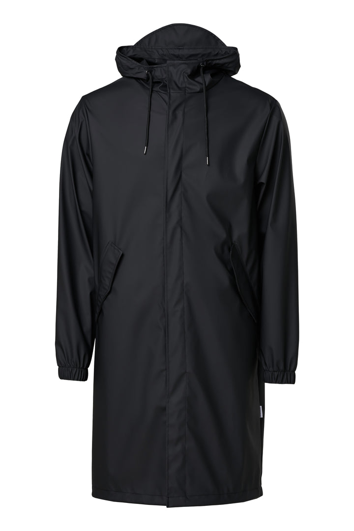 Rains Fishtail Parka - Black