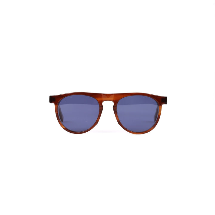 Folk x Oscar Deen Otis Eyewear - Gold with Blue Lenses Sunglasses