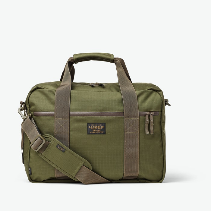 Filson Ripstop Nylon Pullman - Surplus Green
