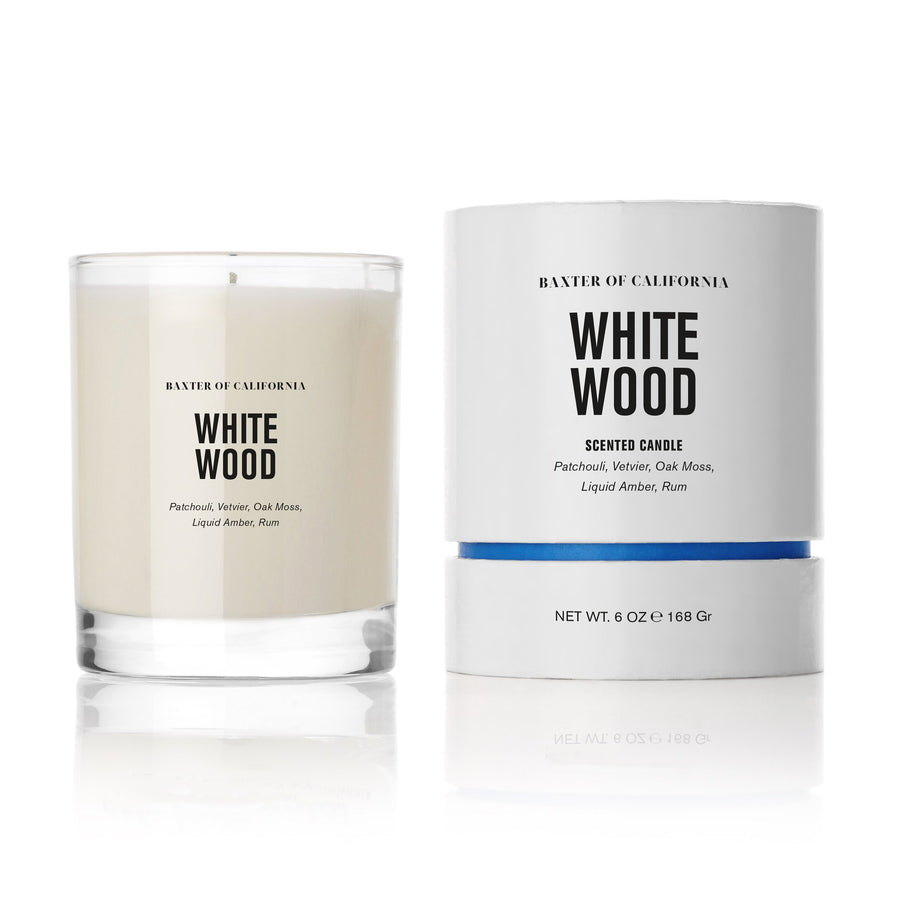 Baxter of California Scented Candle White Wood (168g)