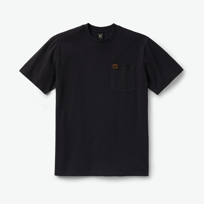 Filson Pioneer Solid One Pocket T-Shirt - Black