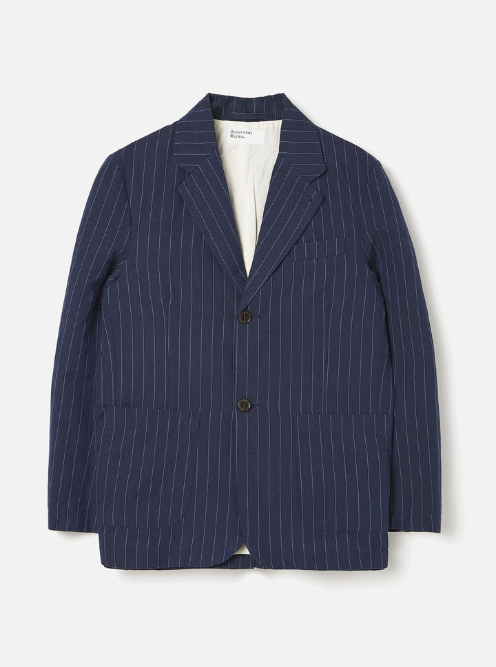 Universal Works Two Button Jacket - Navy
