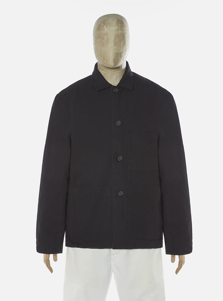 Universal Works Simple Bakers Jacket - Black