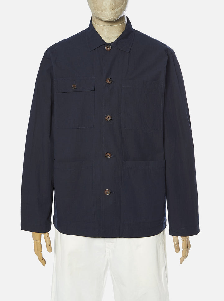 Universal Works Dockside Overshirt - Navy