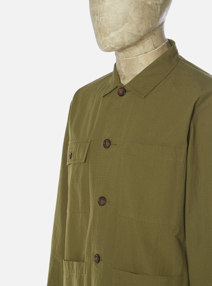 Universal Works Dockside Overshirt - Olive