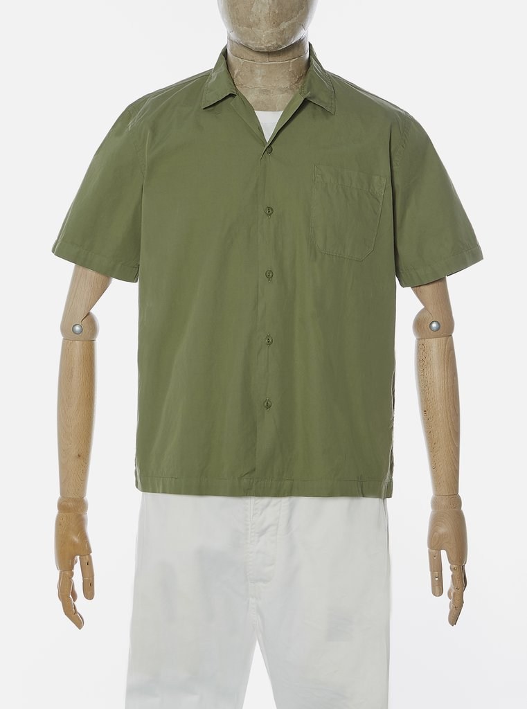 Universal Works Road Shirt - Olive