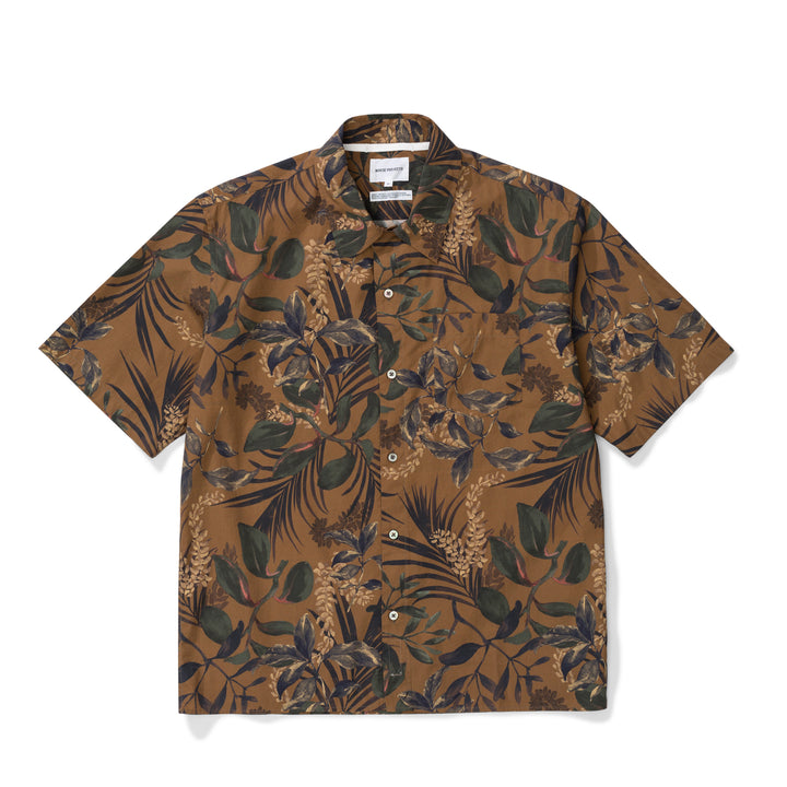 Norse Projects Carsten Print Shirt - Russet