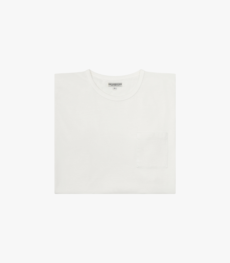 Knickerbocker The Pocket T-Shirt - Milk