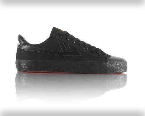 Warrior Basketball Shoes: Classic Low - Black/Black