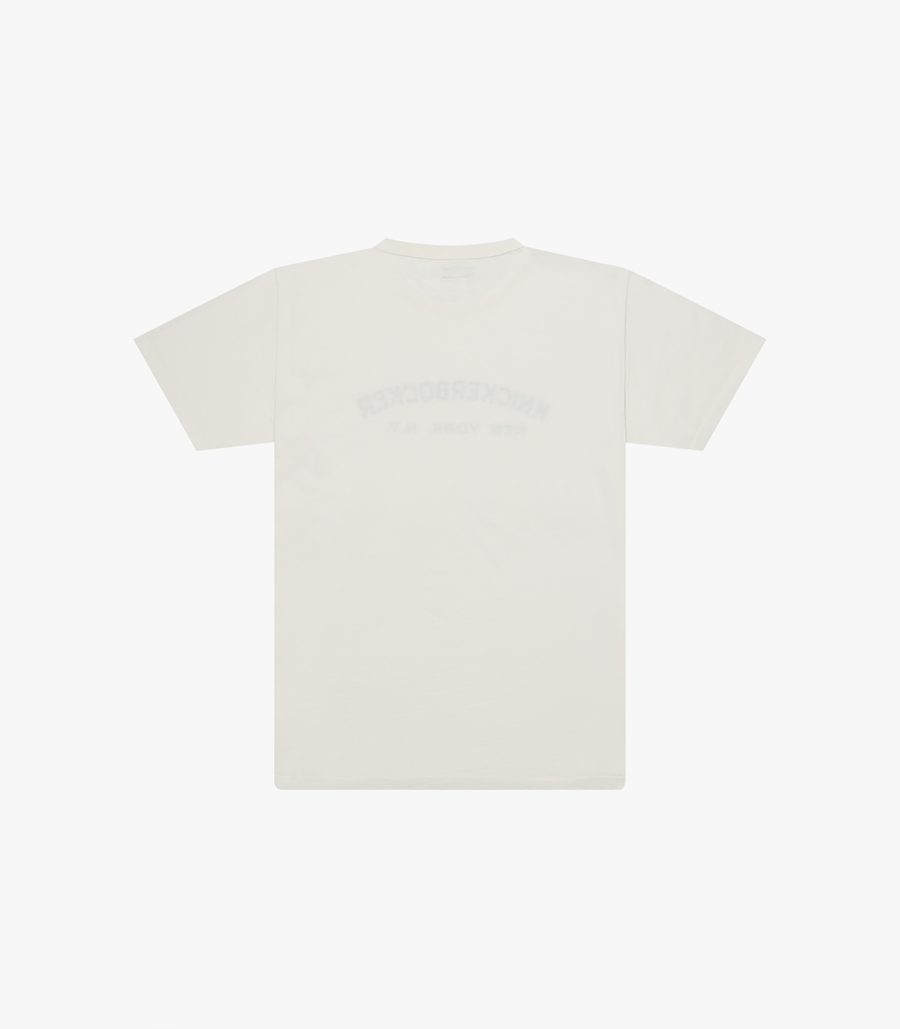 Knickerbocker Core Logo T-Shirt - Milk