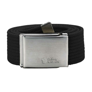 Fjallraven Canvas Belt - Black