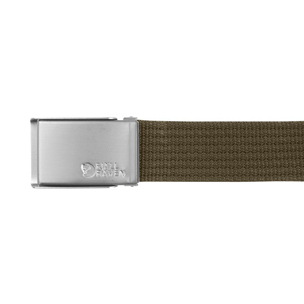 Fjallraven Canvas Belt - Dark Olive