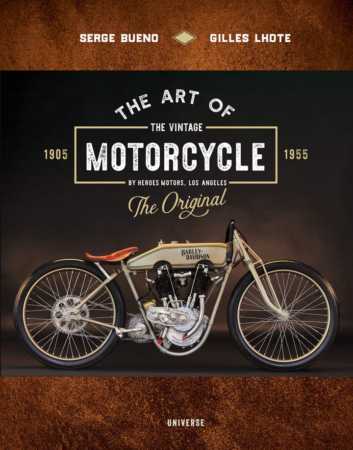 Art of The Vintage Motorcycle Book