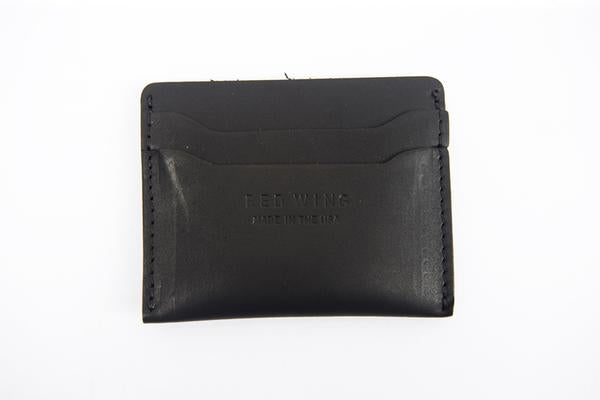 Red Wing Stack Credit Card Holder - Black Frontier Leather
