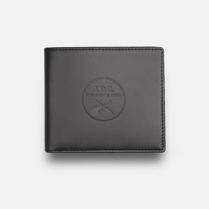 A.P.C. Aly Guitare Wallet - Black