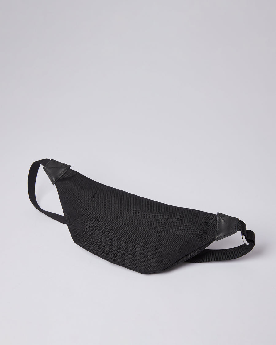 Sandqvist Aste Bag - Black with Black Leather