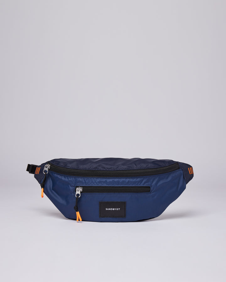 Sandqvist Aste Lightweight Bag - Multi Navy/Evening Blue