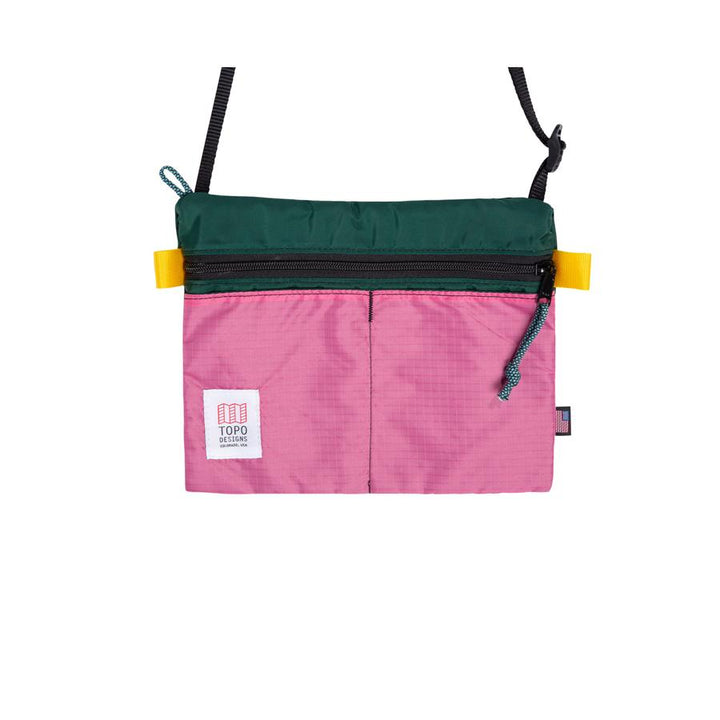 Topo Designs Accessory Shoulder Bag - Forest/Berry