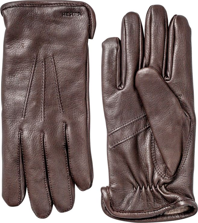 Hestra Andrew Glove - Dark Brown