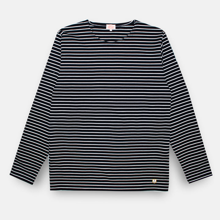 Armor-Lux Breton Striped Shirt - Rich Navy/Milk