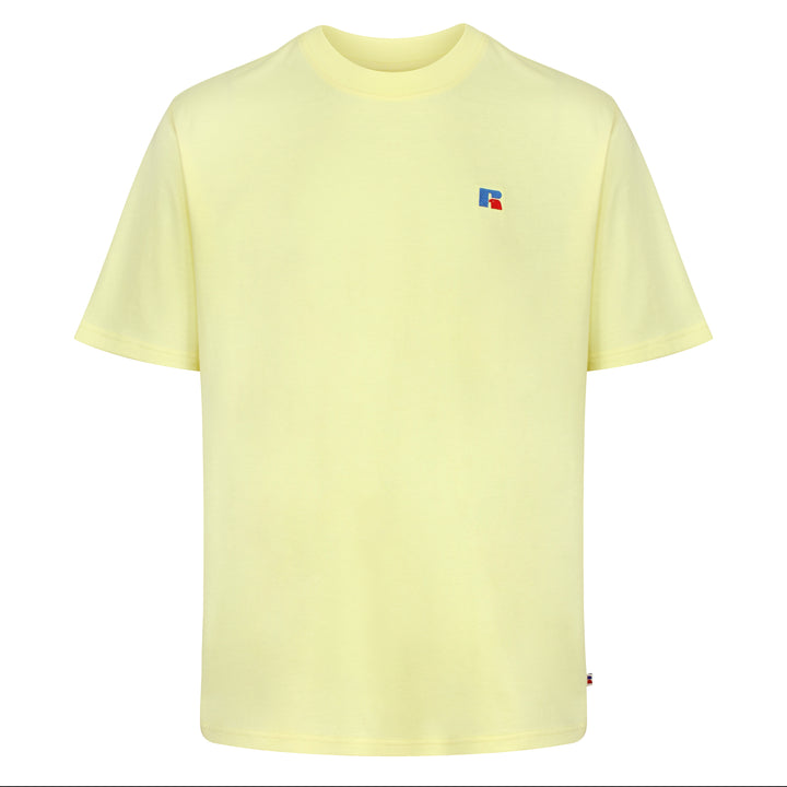Russell Athletic Baseliners Logo T-Shirt - Wax Yellow