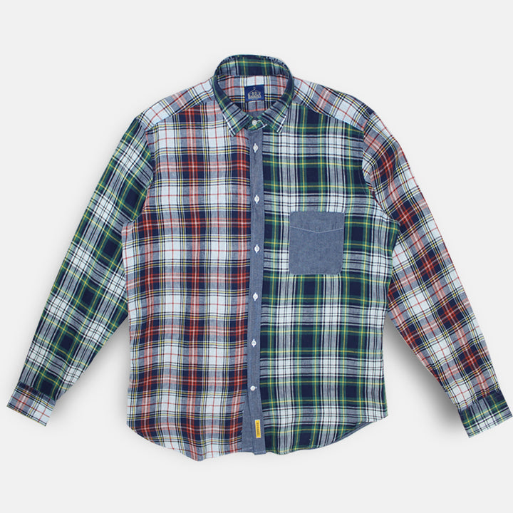 BD Baggies Bristol Shirt - Green Check