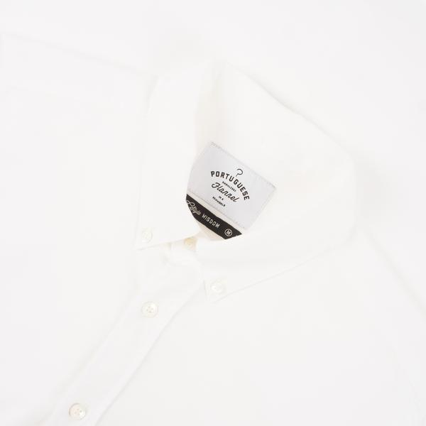 Portuguese Flannel Belavista Shirt - Off White