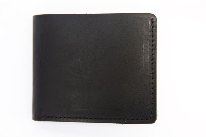 Red Wing Classic Bi-Fold Wallet - Black Frontier