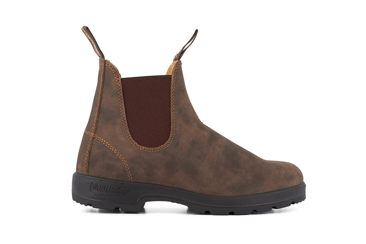 Blundstone 585 Boots - Rustic Brown Leather