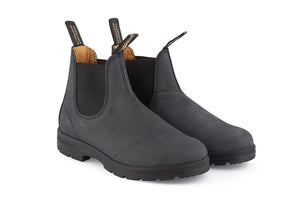 Blundstone 587 Boots - Rustic Black Leather