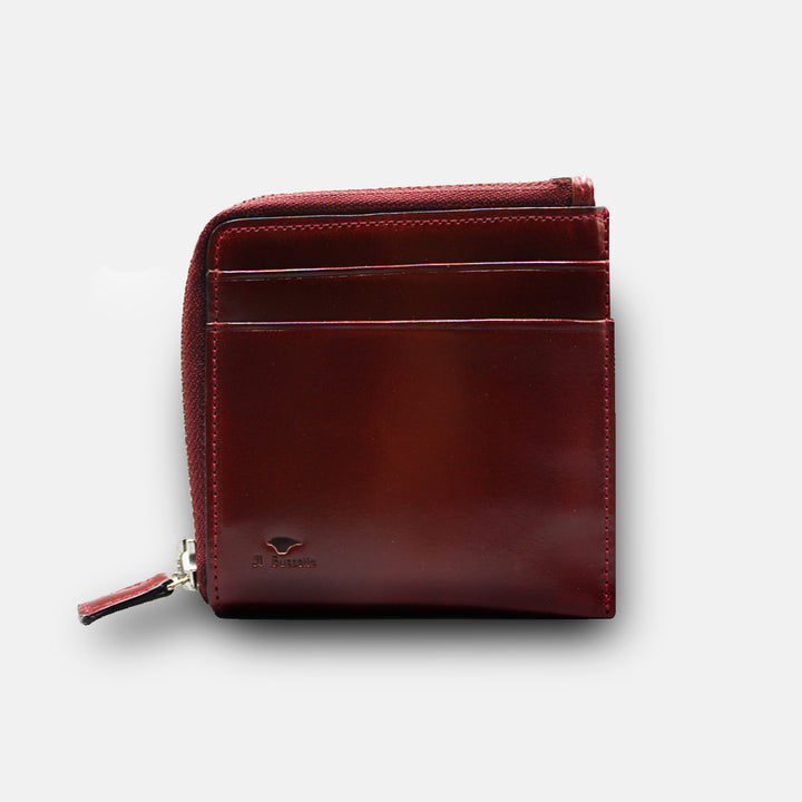 Il Bussetto Zip Wallet - Burgundy