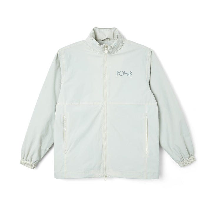 Polar Skate Co. Coach Jacket - Oyster White