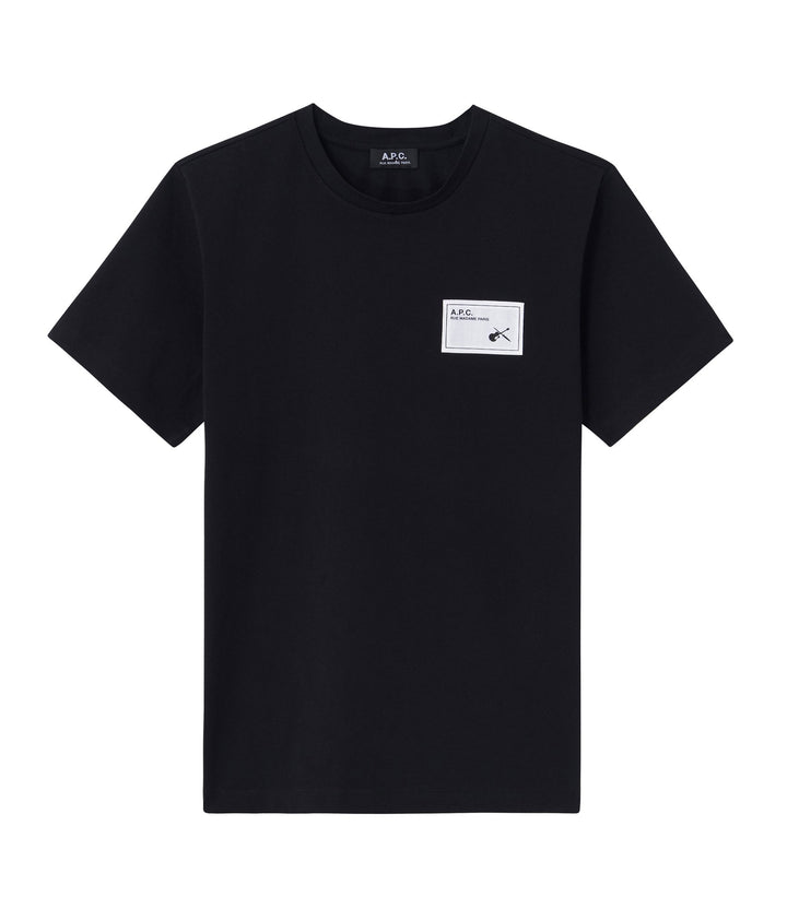 A.P.C. Pepper T-Shirt - Black