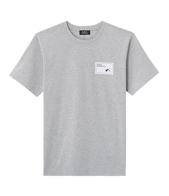 A.P.C. Pepper T-Shirt - Heather Grey