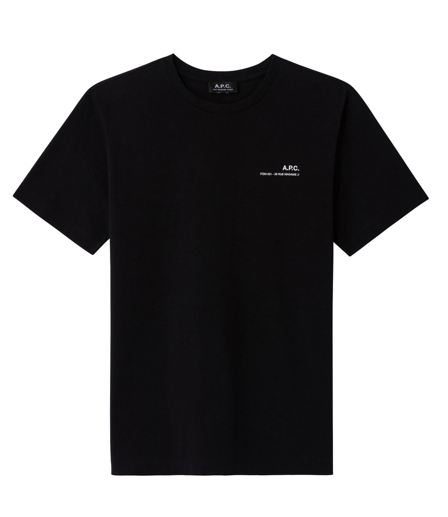 A.P.C. Item T-Shirt - Black