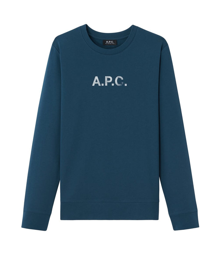 A.P.C. Stamp Sweatshirt - Blue
