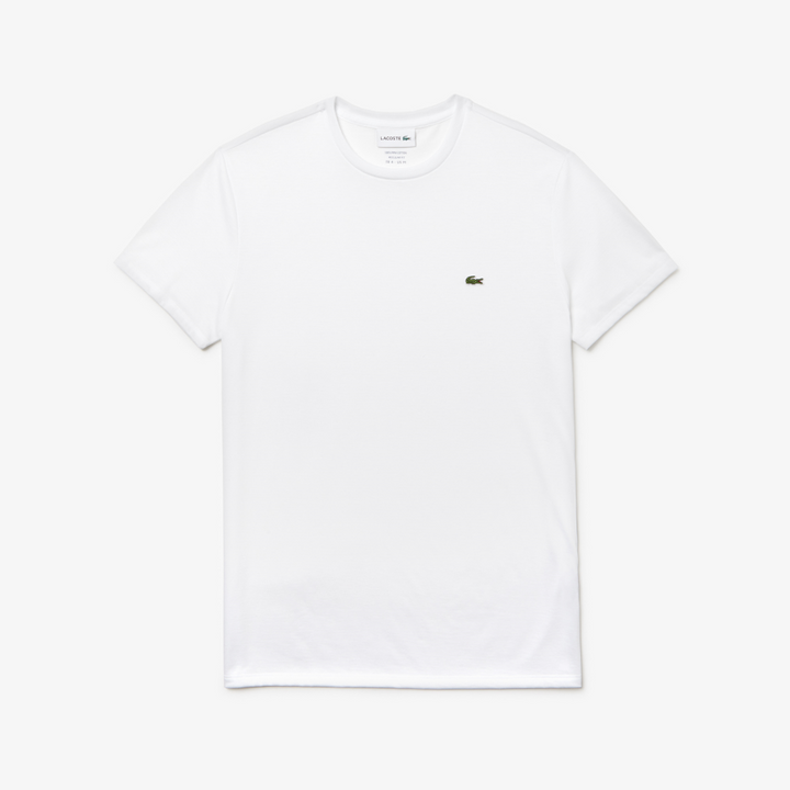 Lacoste Crew Neck T-Shirt - White