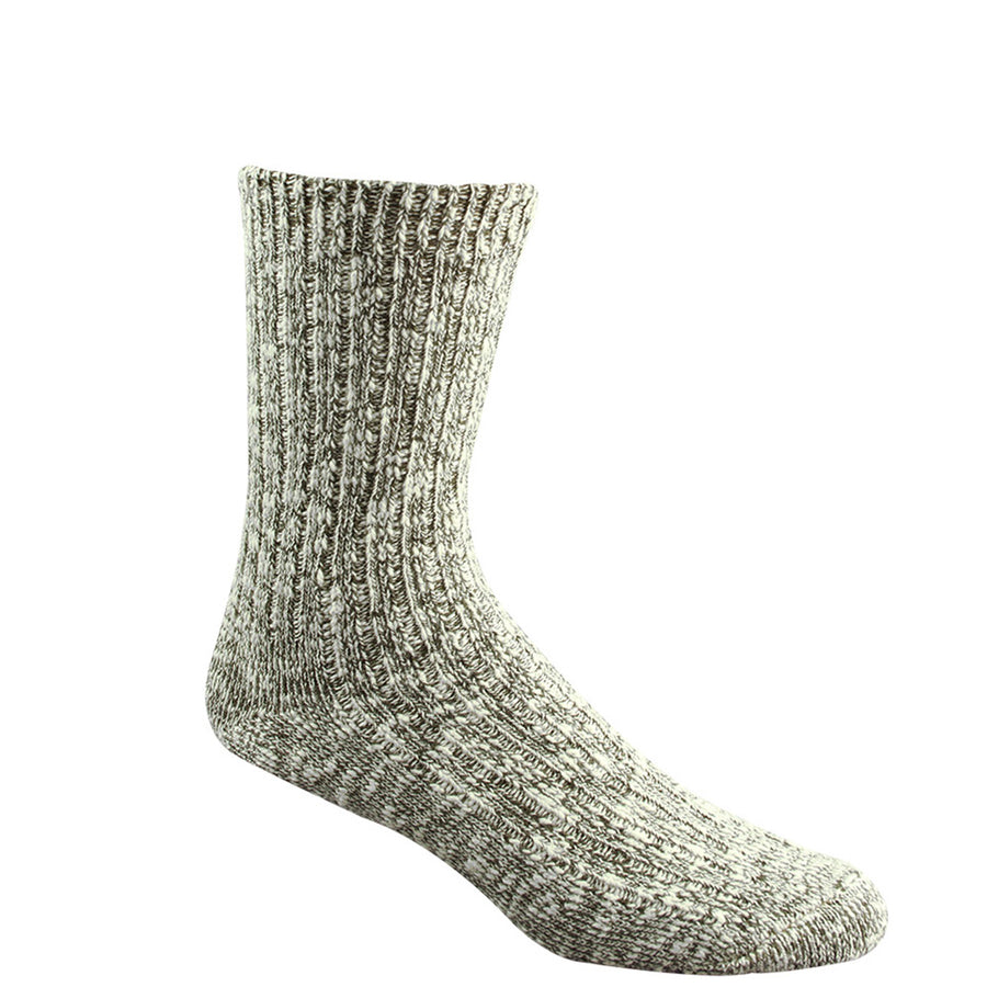 Wigwam Cypress Socks - White/Olive