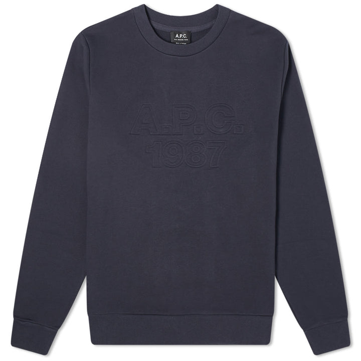 A.P.C. Dan Sweatshirt - Dark Navy