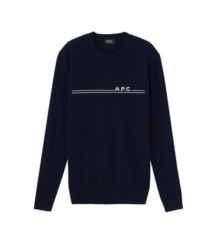 A.P.C. Eponymous Sweater - Dark Navy