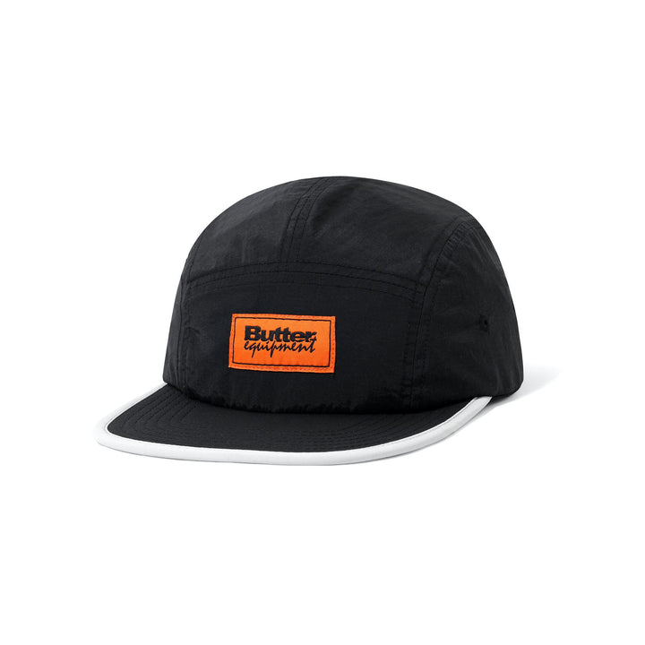 Butter Goods Equipment 5 Panel Cap - Black