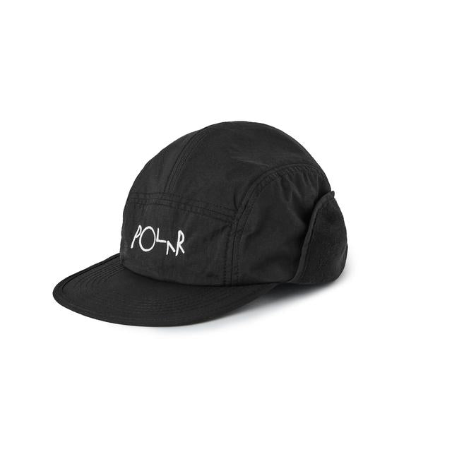 Polar Skate Co. Flap Cap - Black