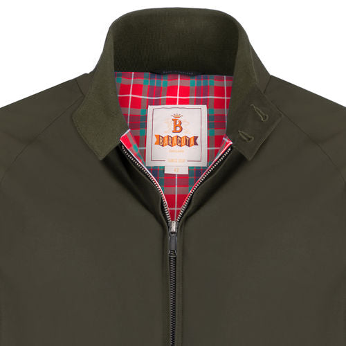 Baracuta G9 Harrington Jacket - Chesnut