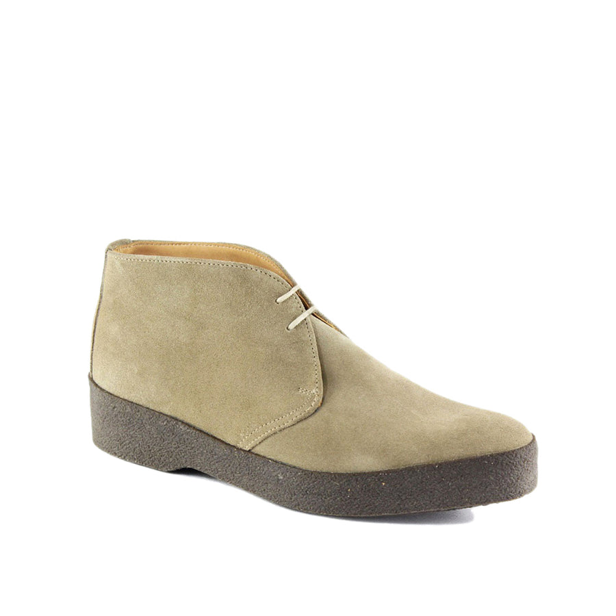 Sanders & Sanders Hi Top Suede Chukka Boot - Dirty Buck