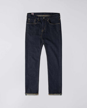 Edwin Slim Tapered Kaihara Jeans, Blue Stretch Denim, Blue Rinsed