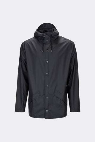 Rains Waterproof Unisex Jacket - Black