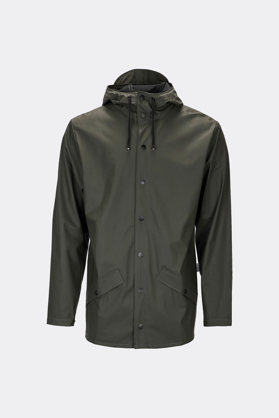 Rains Waterproof Unisex Jacket - Green