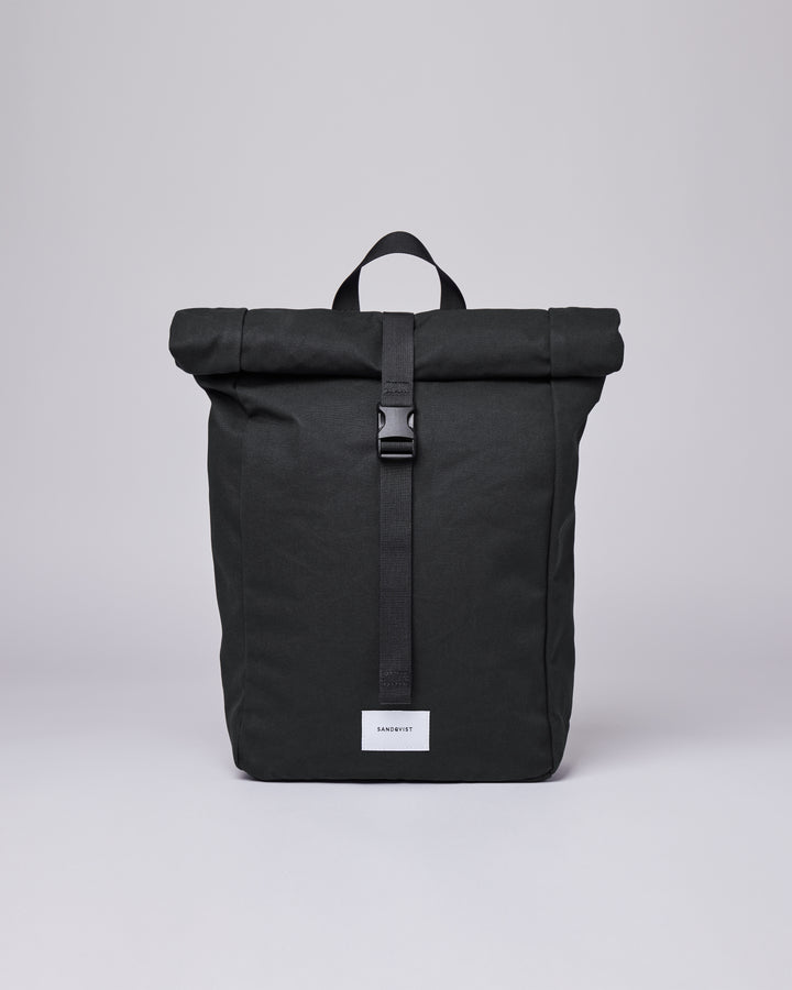 Sandqvist Kaj Bag - Black with Black Webbing